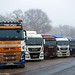 No Real Outstanding Trucks But Plenty Nationalitys ... by Rab,Driver @ Grampian Continental..