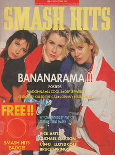 Smash Hits, October 7, 1987