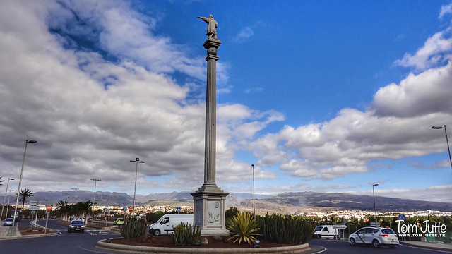 Columbus Monument, Maspalomas, Gran Canaria, Canary Islands, Spain - 4790