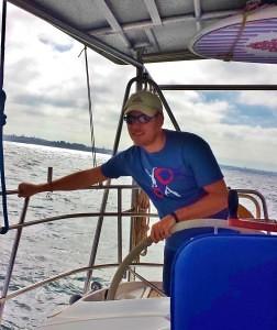 Tom Sailing to Rotto