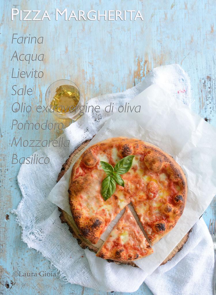 Pizza al piatto, cotta nel forno a legna