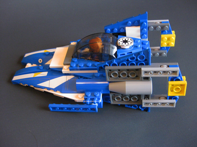 A-Wing Starfighter (side)
