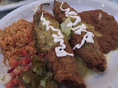 Shrimp & Cheese Chile Rellenos