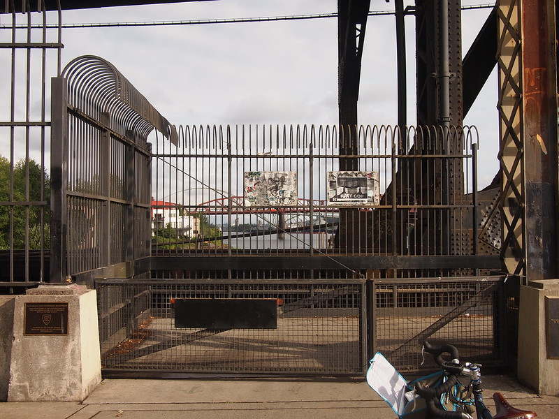 Steel Bridge Closure