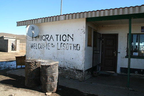 Lesotho Immigration is Rustic