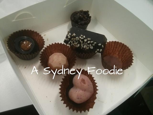 Pana Chocolate selection