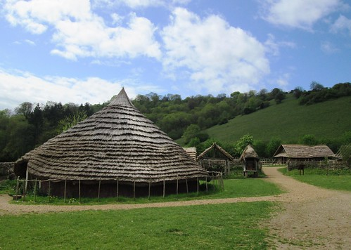 Iron Age roundhouse at Butser Ancient Farm 4
