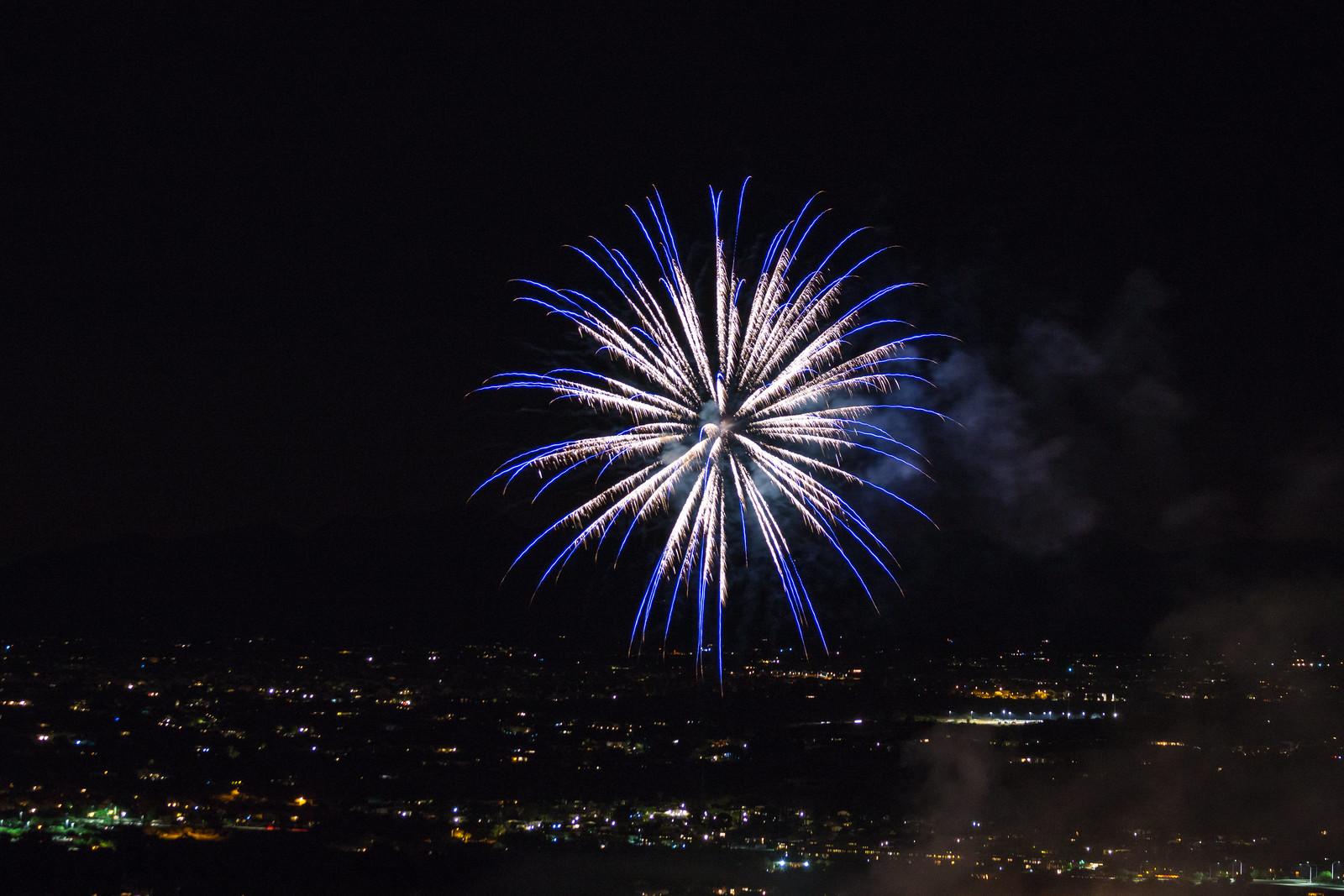 1507 Fireworks Near the Linda Vista Trail 03