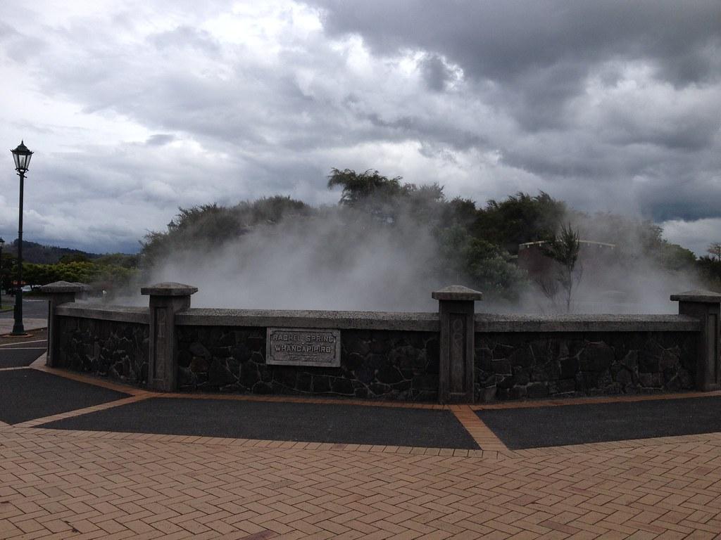 Steaming Rachel Spring, Rotorua