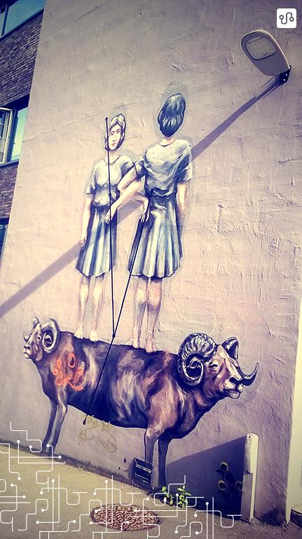 Grafite nas ruas de Bergen