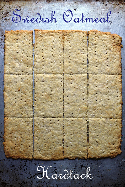 swedish oatmeal hardtack