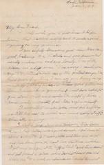 1919 Ray Wisner Letter 1