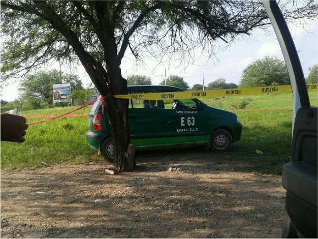 Investigan el homicidio de taxista en el municipio de Ébano