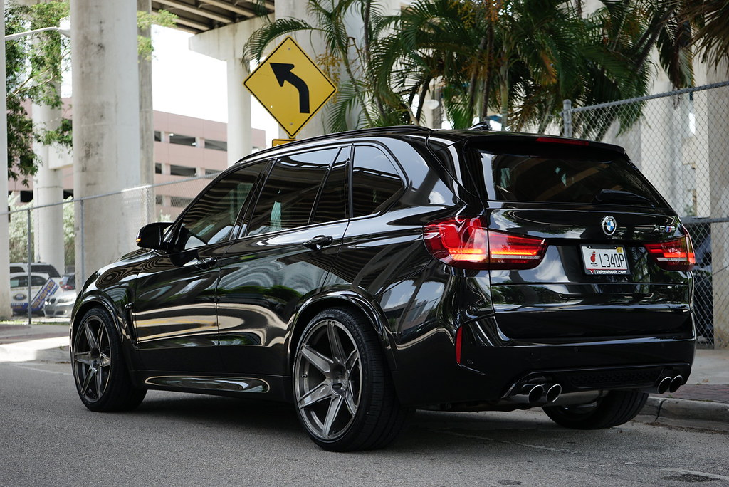 Bmw F85 X5m On 22 Quot Velos S6 Forged Wheels