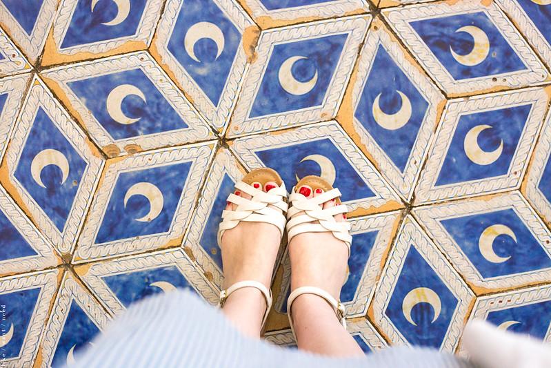 Beautiful tile, Duomo di Siena
