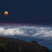 Blue Moon from Mount Tamalpais by uGnzlz