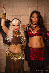Tampa Bay Comic-Con 2015 Cosplay - BELLYDANCERS