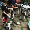 It is a bike cleaning day ha... :) #bike #cleaning-day #together