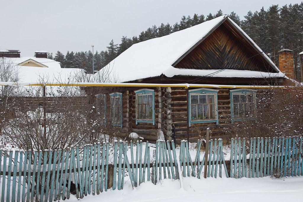 Ян_деревенский домик в Поташной поляне