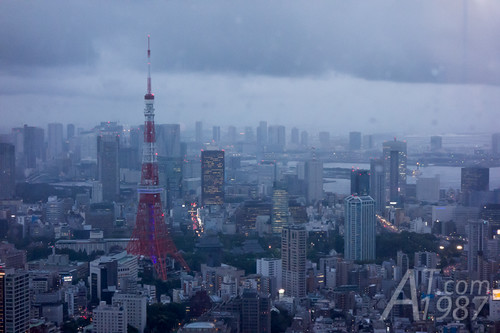 Tokyo Tower from TOKYO CITY VIEW