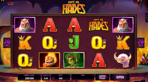 Hot as Hades Slot Machine