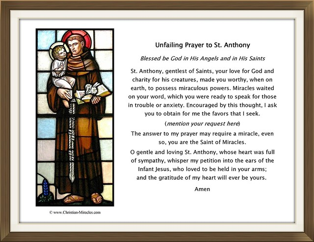Saint Anthony Print
