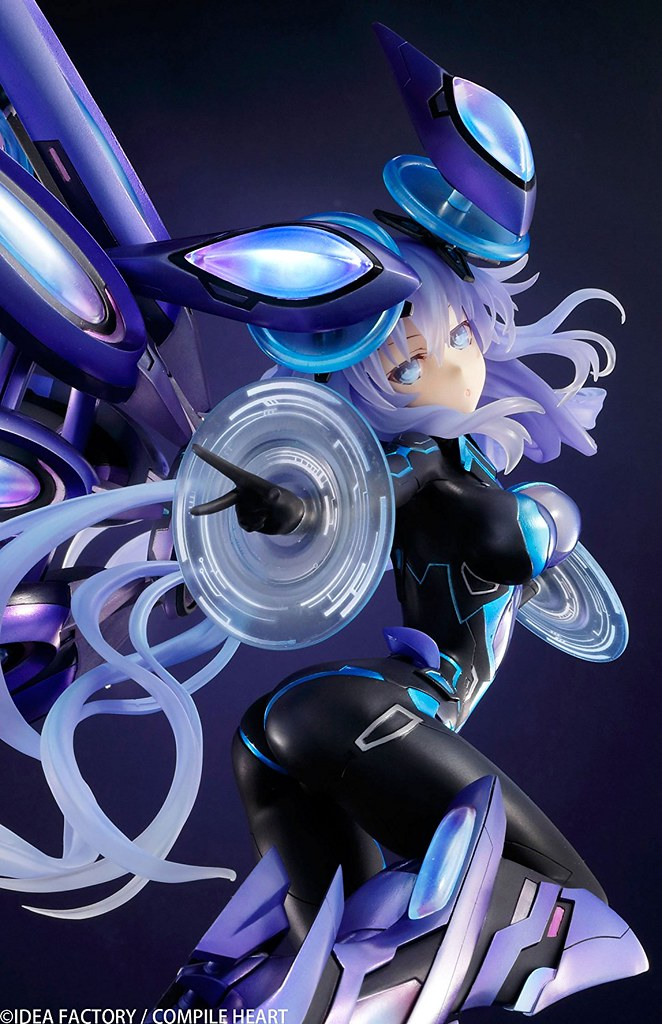 這一刀,是為了遊汐葉界!VERTEX《新次元戰記 戰機少女VII》次世代紫靈心 ネクストパープル 1/7 FIGURE