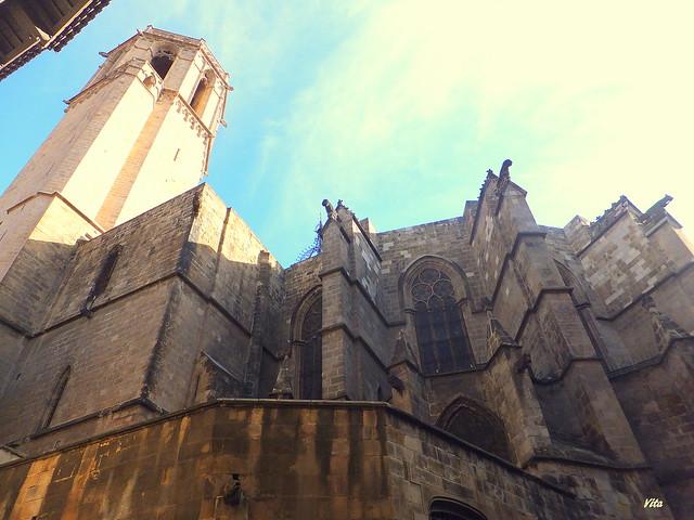 Teilansicht gotische Kathedrale, Fujifilm FinePix F600EXR