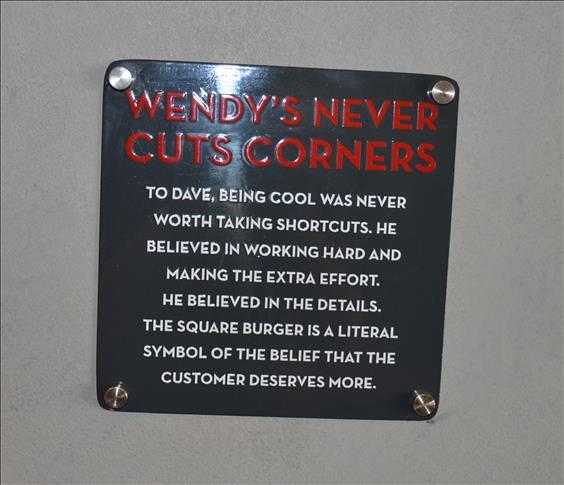 No cutting corners