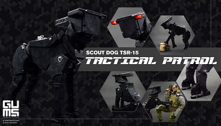 【官圖更新】Gums Productions × Vitaly Bulgarov【機甲戰犬】Scout Dog TSR-15
