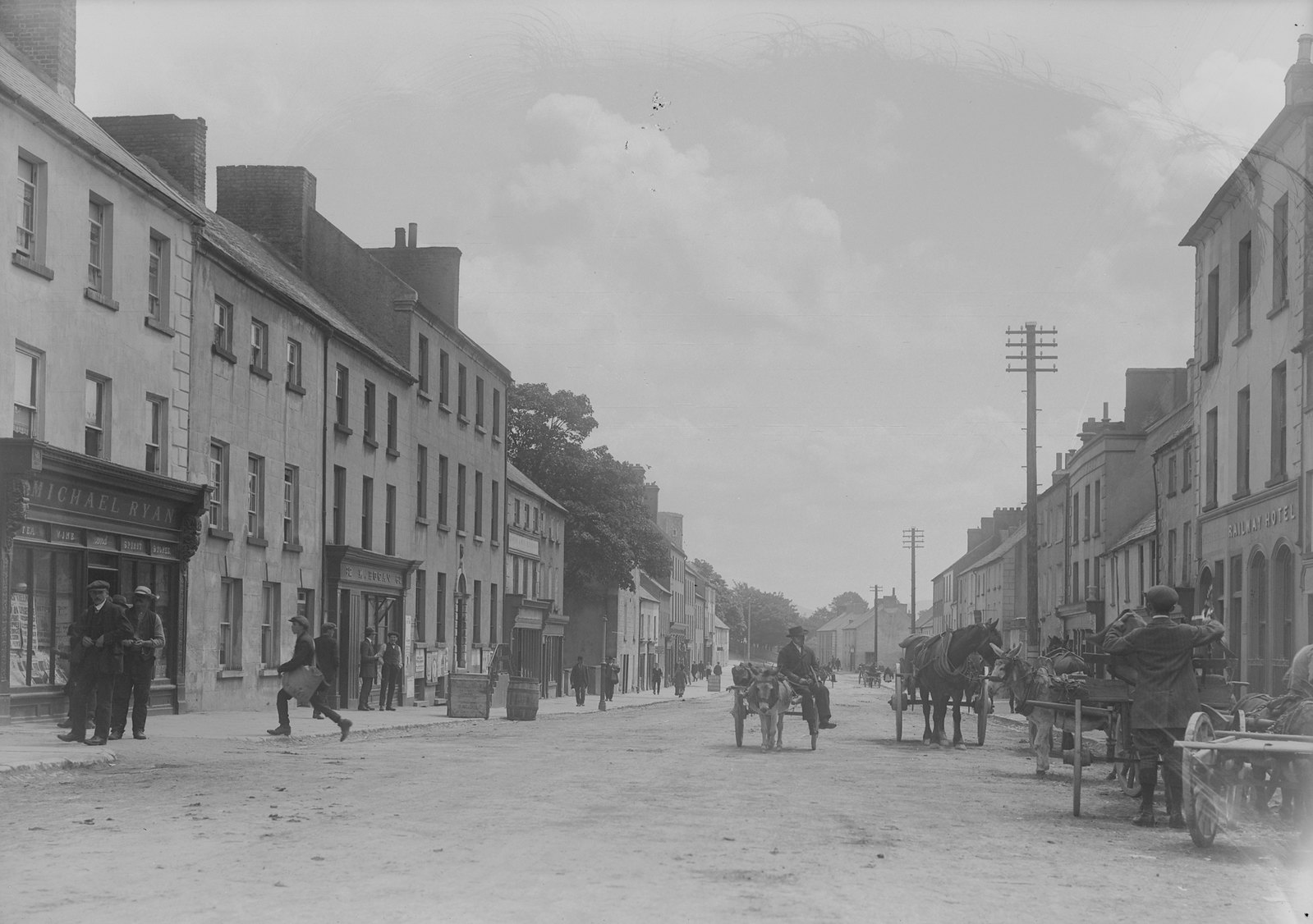 Old photo of Nenagh, Co. Tipperary