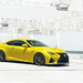 Yellow Lexus RCF by GREATONE!