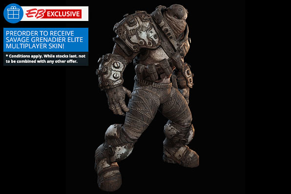 Gears of War Ultimate Edition Savage Grenadier Elite Skin