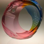 Leon Applebaum; Transformation; Glass; 11x2; 2014 -