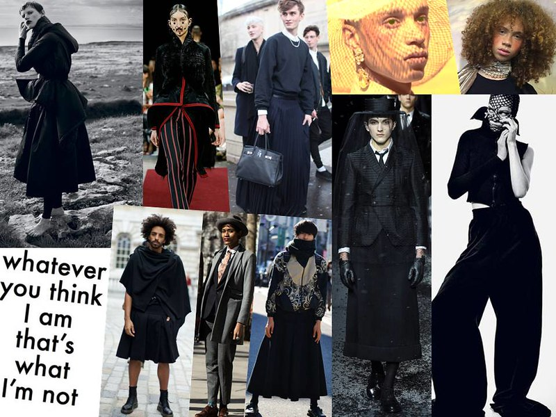 Street Style, Androgyny, Gender Neutral, Givenchy, Thom Browne