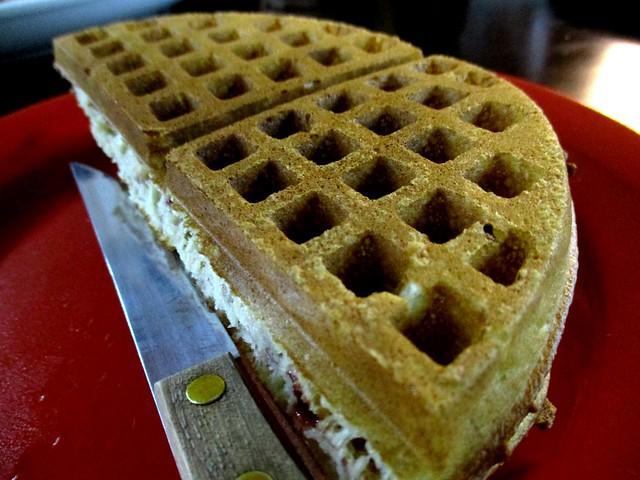 Colourful Cafe waffle