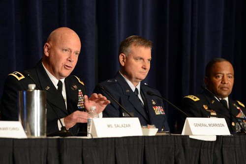 Maj. Gen. Morrison at AUSA Panel