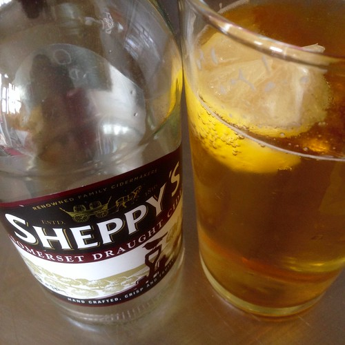 Sheppy's Somerset draught cider 🍺😋
