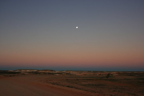 Sunset Coober Pedy