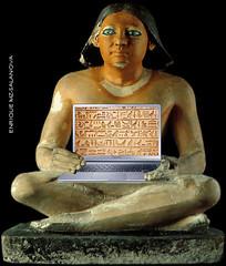 escriba egipcio ordenador