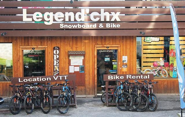 legend chx chamonix france snowboard and bike rental