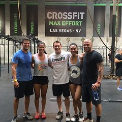 Closed out the weekend with a drop-in at @cf_maxeffort with @zforrest4 from Crossfit Games Demo Team! Thanks for having us! #crossfitstealth #wheninvegas #youcrossfit #youthinkstealthishot #105degrees #whenyourlegsdontworkliketheyusedto