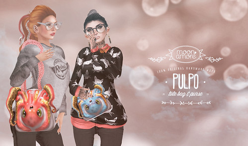 :Moon Amore: Pulpo bags!