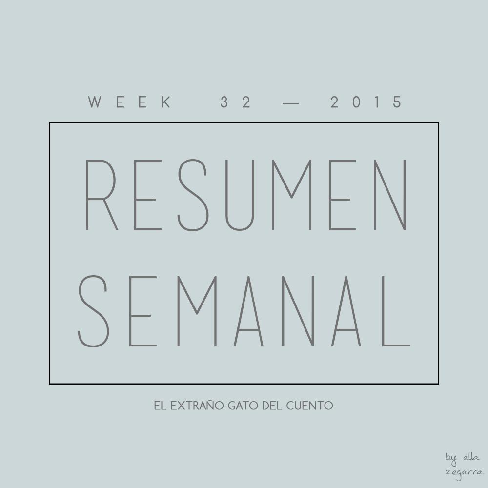 resumen semanal - week 32