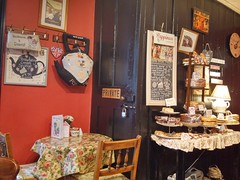 Wylie's Cafe and Tea Room - The Iron Yard - 66a Market Place Warwick - cakes etc