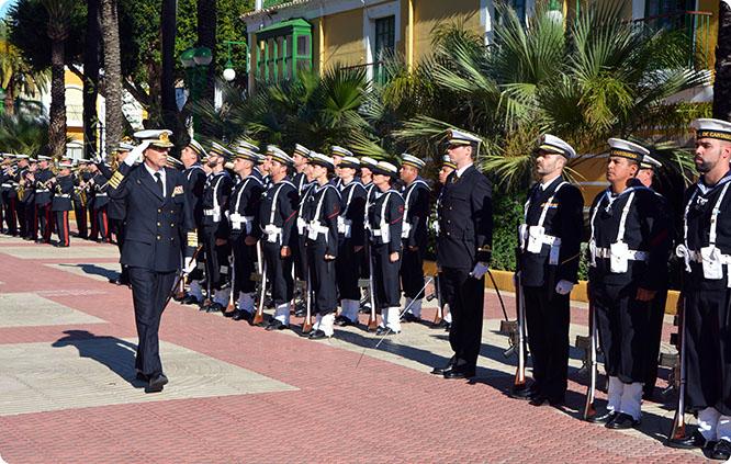 El vicealmirante Aniceto Rosique Nieto, nuevo Almirante Jefe del Arsenal de Cartagena