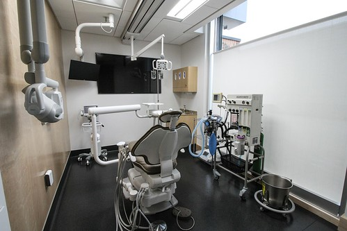 Modern technology in the operatory at our cosmetic dentistry Anchorage Midtown Dental Center