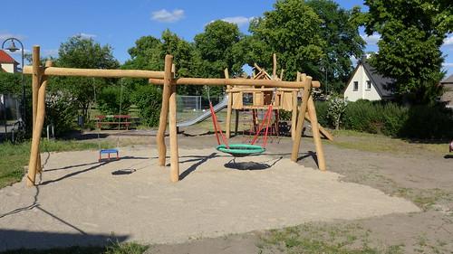 Neuer Spielplatz in der Dorfstraße #2