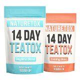 Naturetoxtea Teatox 14 Day Detox for Day & Night (Weight loss, Fat Burn, Teatox, Slimming tea, Detox tea)