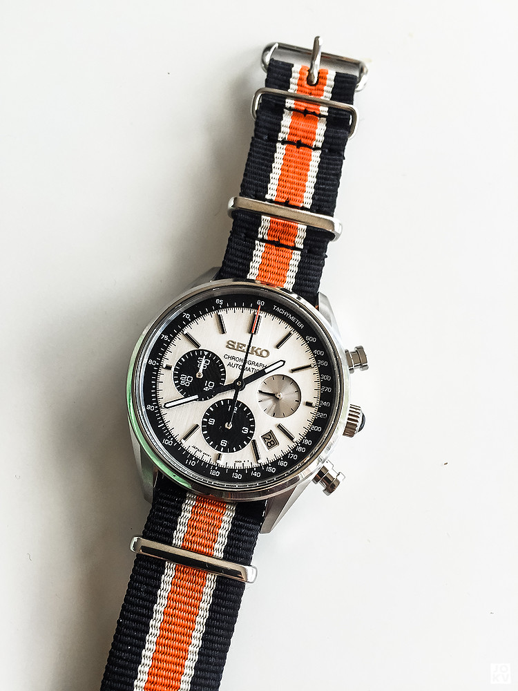 [Revue] Seiko Automatic Chronograph SDGZ013 - Panda 18898673036_f9872f2871_b